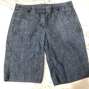 J. Crew Chambray Shorts